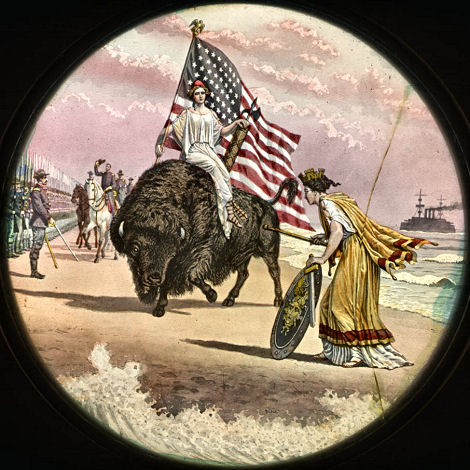 Magic Lantern America As Drawn By Joseph Boggs Beale And